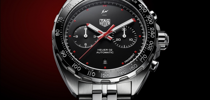 TAG Heuer x Fragment Design Calibre Heuer 02 Chronograph