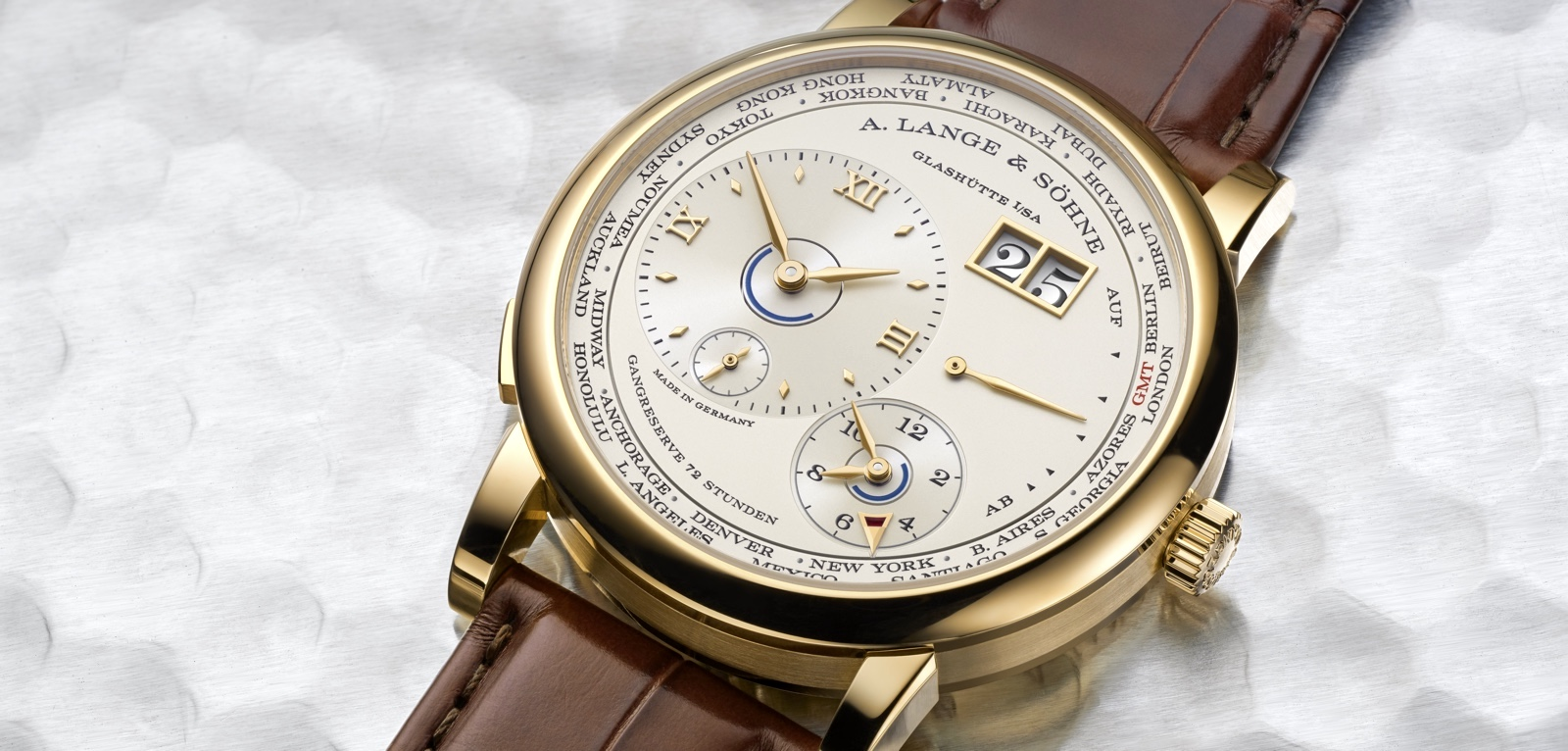 Lange 1 Time Zone Cover