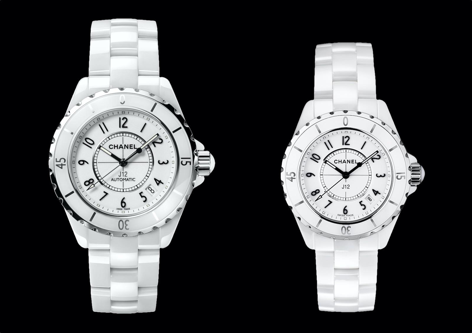Historia del Chanel J12 - 2003 - J12 white 38-33 mm