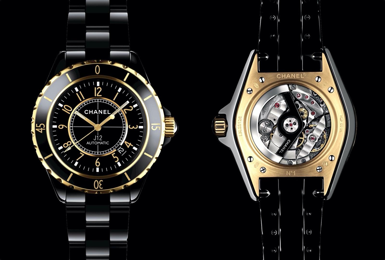 Historia del Chanel J12 - 2008 J12 Calibre 3125 H2129