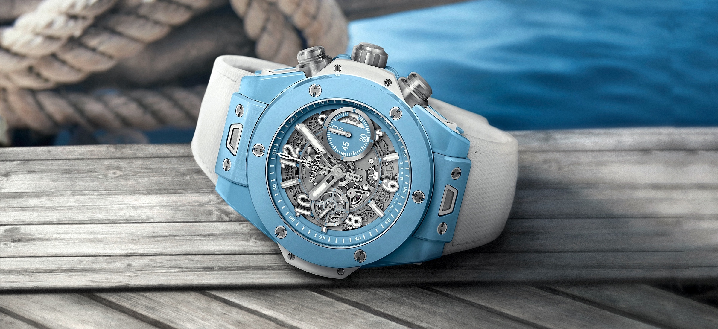 Hublot Big Bang Unico Sky Blue - cover 01