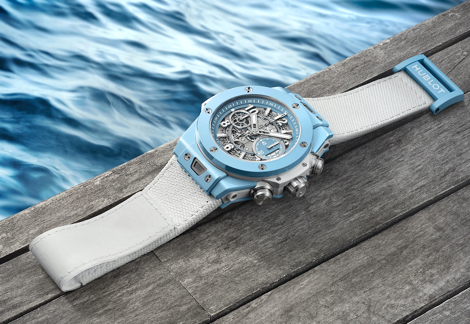 Hublot Big Bang Unico Sky Blue - pier 01