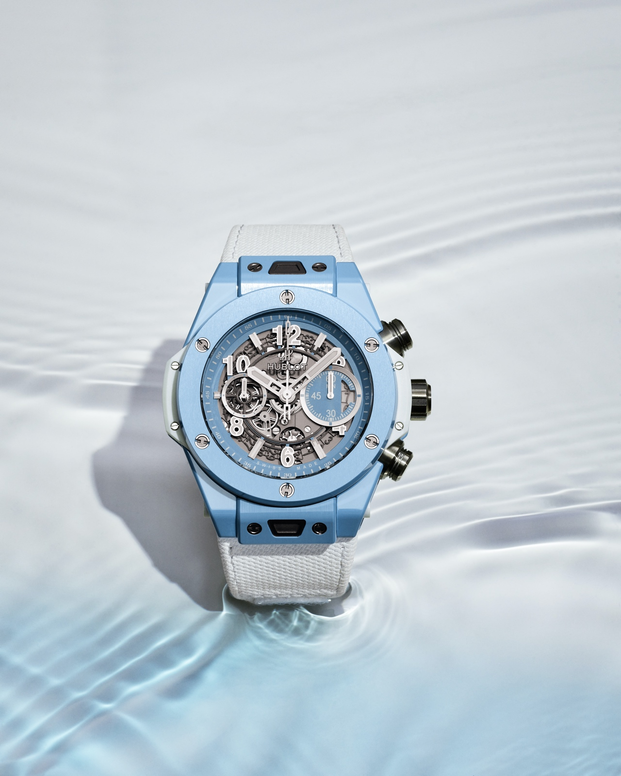 Hublot Big Bang Unico Sky Blue - sand v