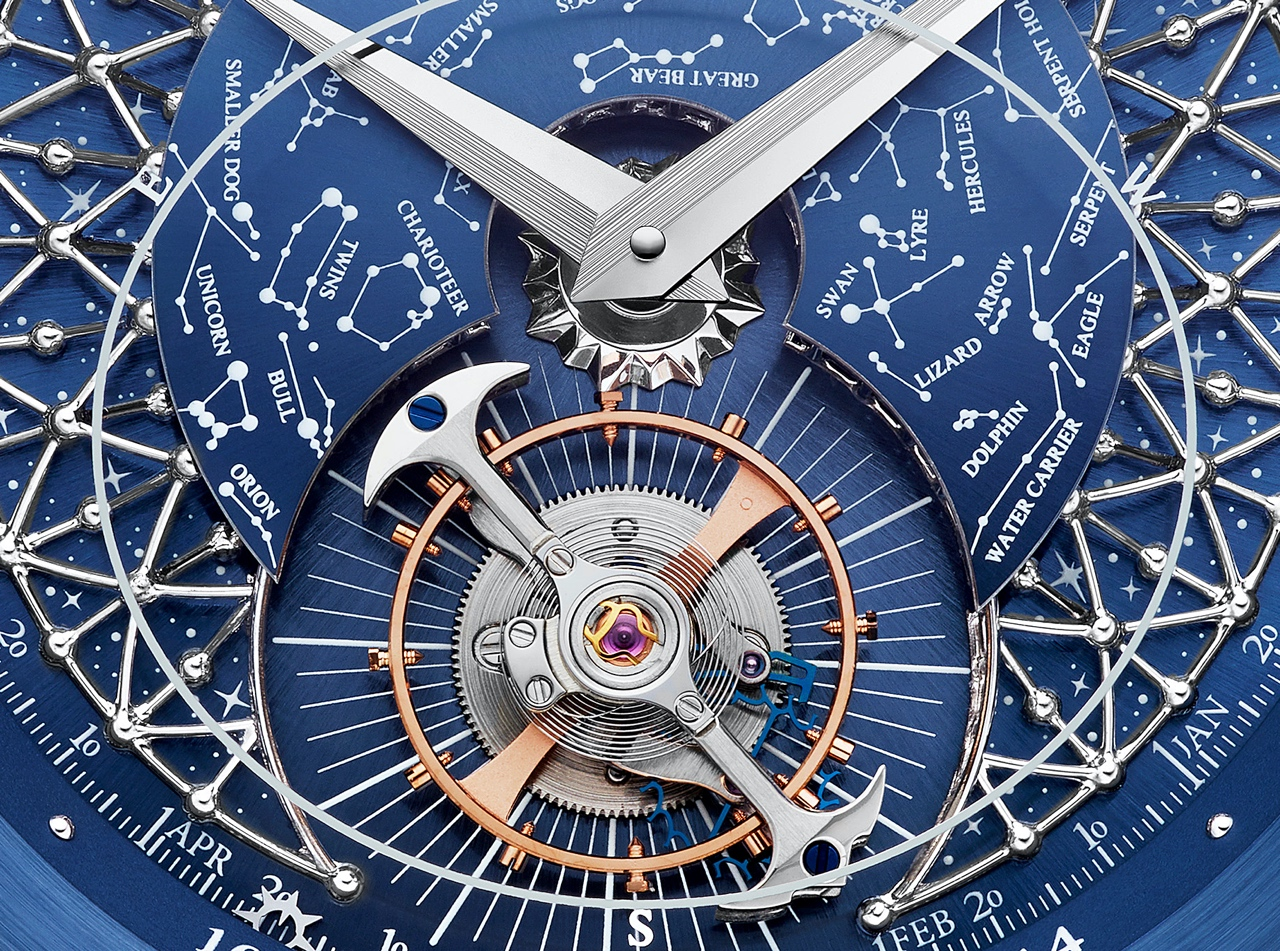 Jaeger-LeCoultre Master Grande Tradition Grande Complication - blue dial