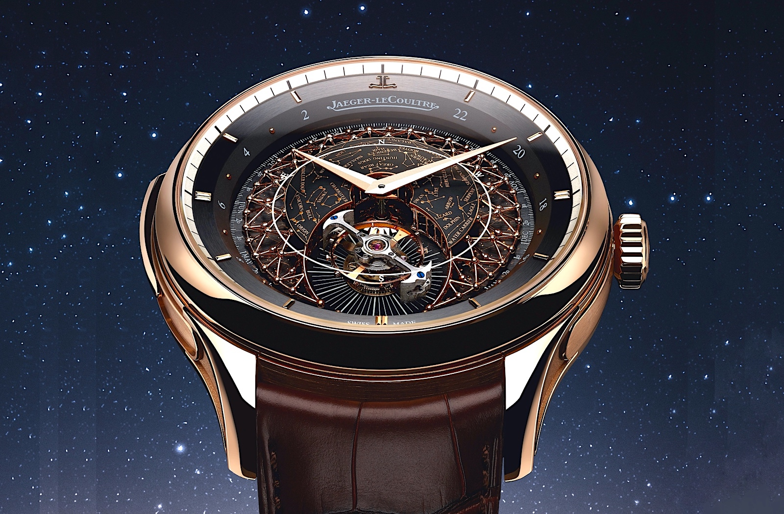 Jaeger-LeCoultre Master Grande Tradition Grande Complication - front