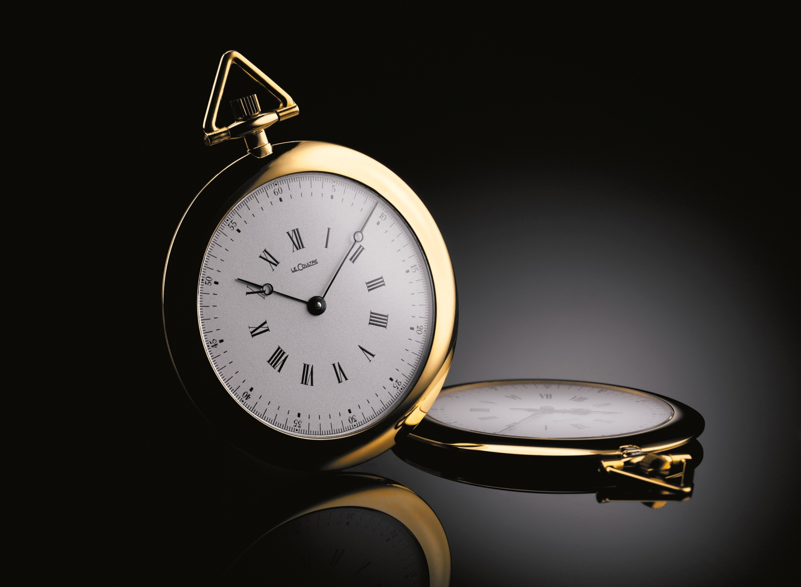 Jaeger-LeCoultre calibre 145 knife pocket watch