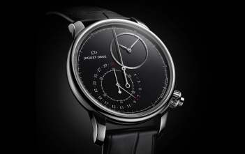 Jaquet Droz Grande Seconde Chronograph - cover black