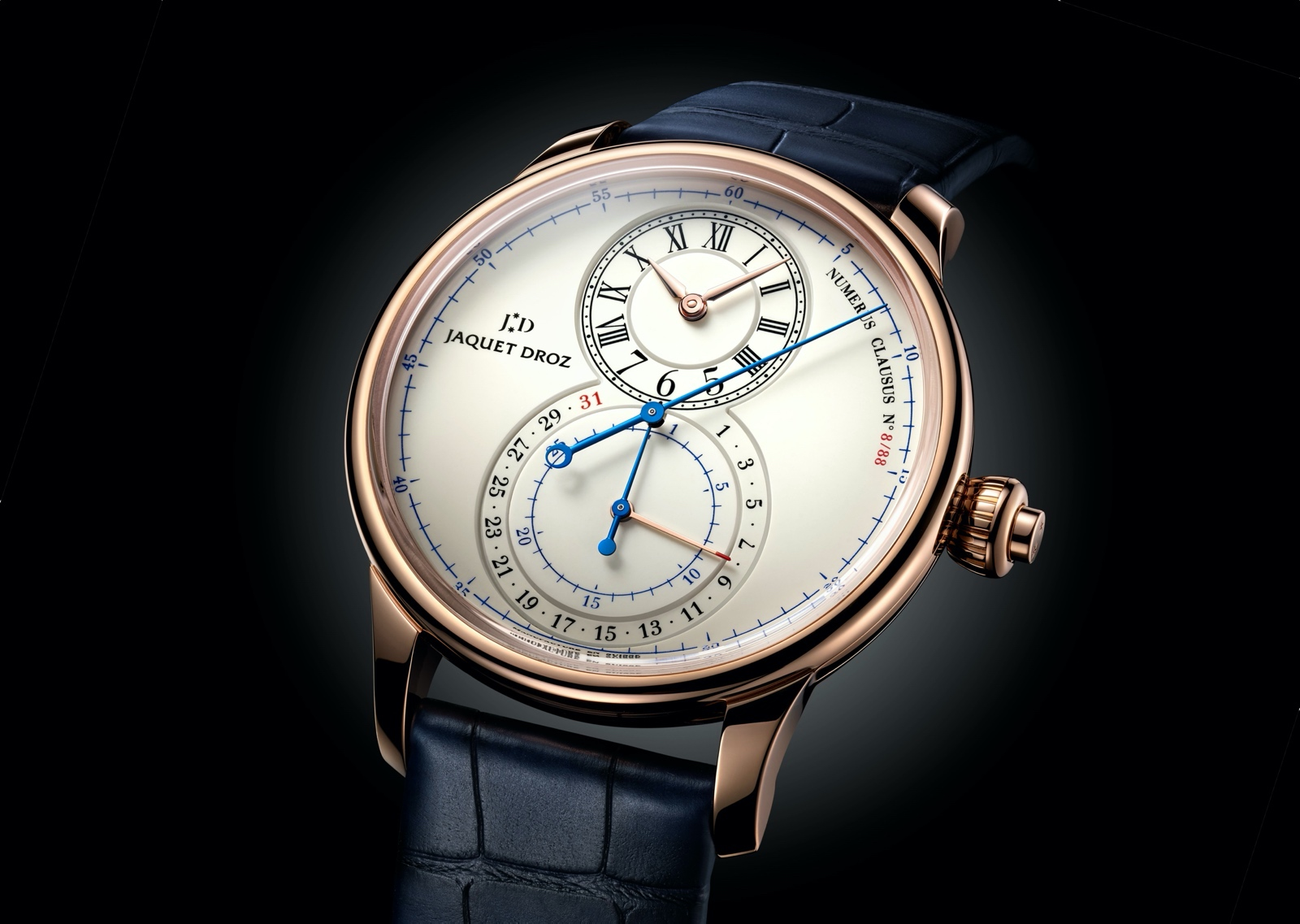 Jaquet Droz Grande Seconde Chronograph - gold