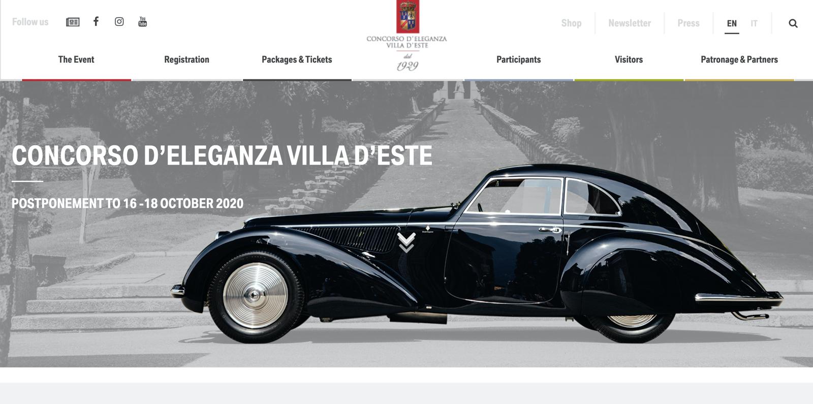 Lange Concours Virtual 2020 Concorso d'Eleganza