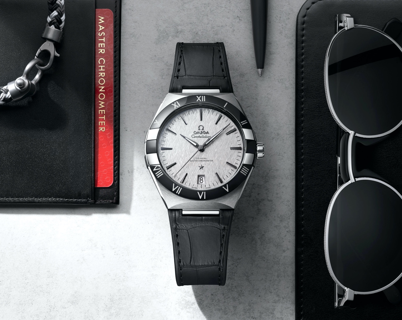 Omega Constellation Gents' 41 - steel ceramic
