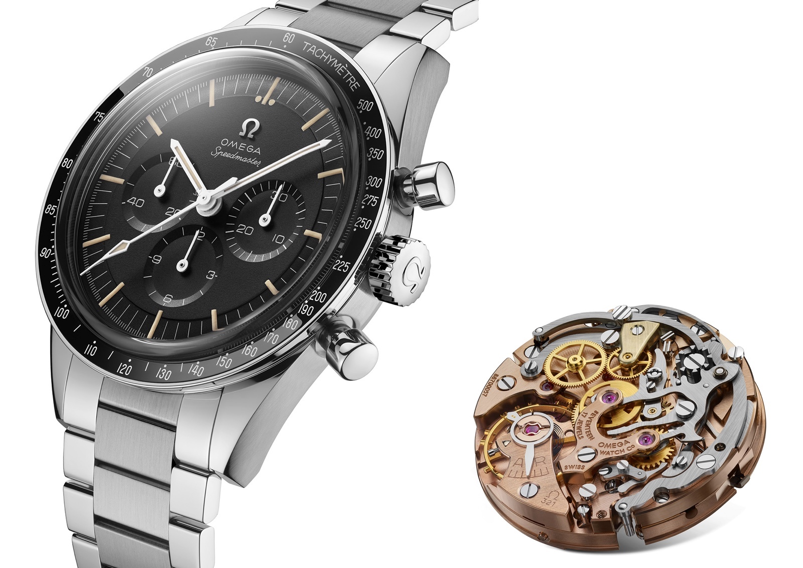 Omega Speedmaster Moonwatch 321 Stainless Steel launch 3