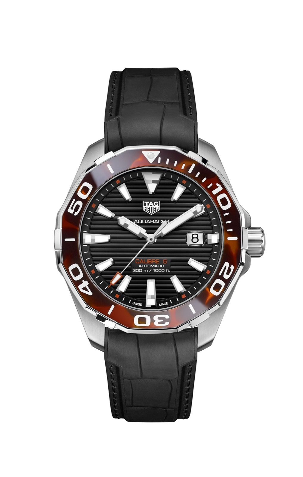 TAG Heuer Aquaracer 43 mm carey
