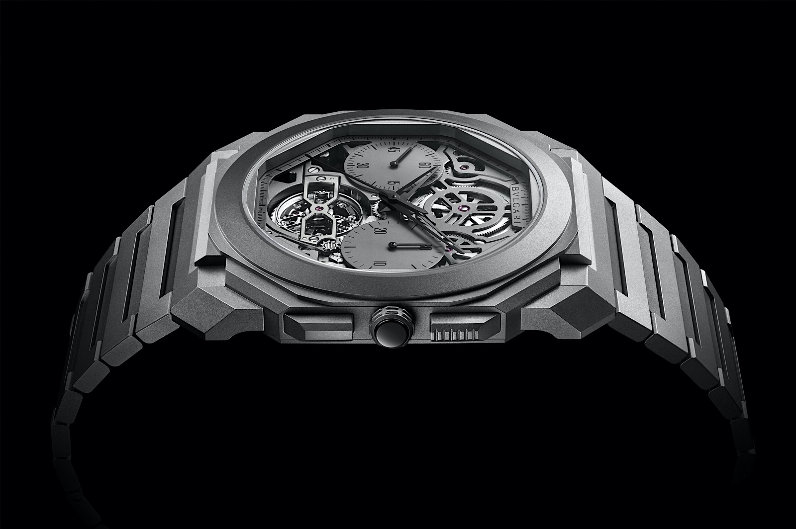 Bvlgari en los Geneva Watch Days - Octo Finissimo Tourbillon Chronograph Skeleton Automatic