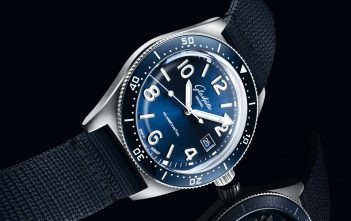 Glashütte Original SeaQ Blue Dial Cover