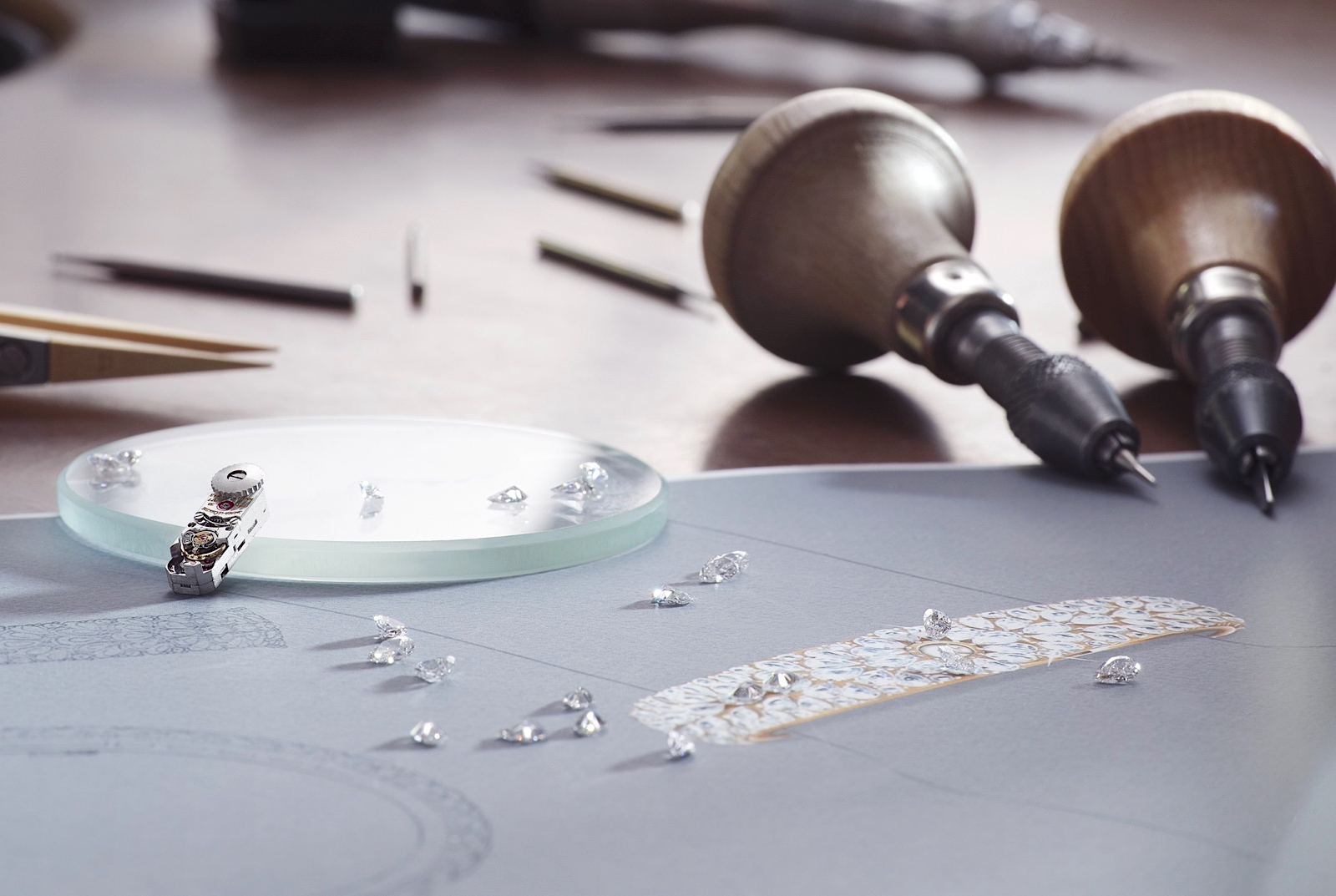 Jaeger-LeCoultre Calibre 101 High Jewellery - calibre 101