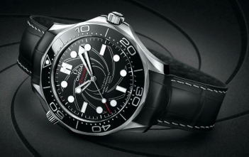 Omega Seamaster Diver 300M James Bond Platinum Cover