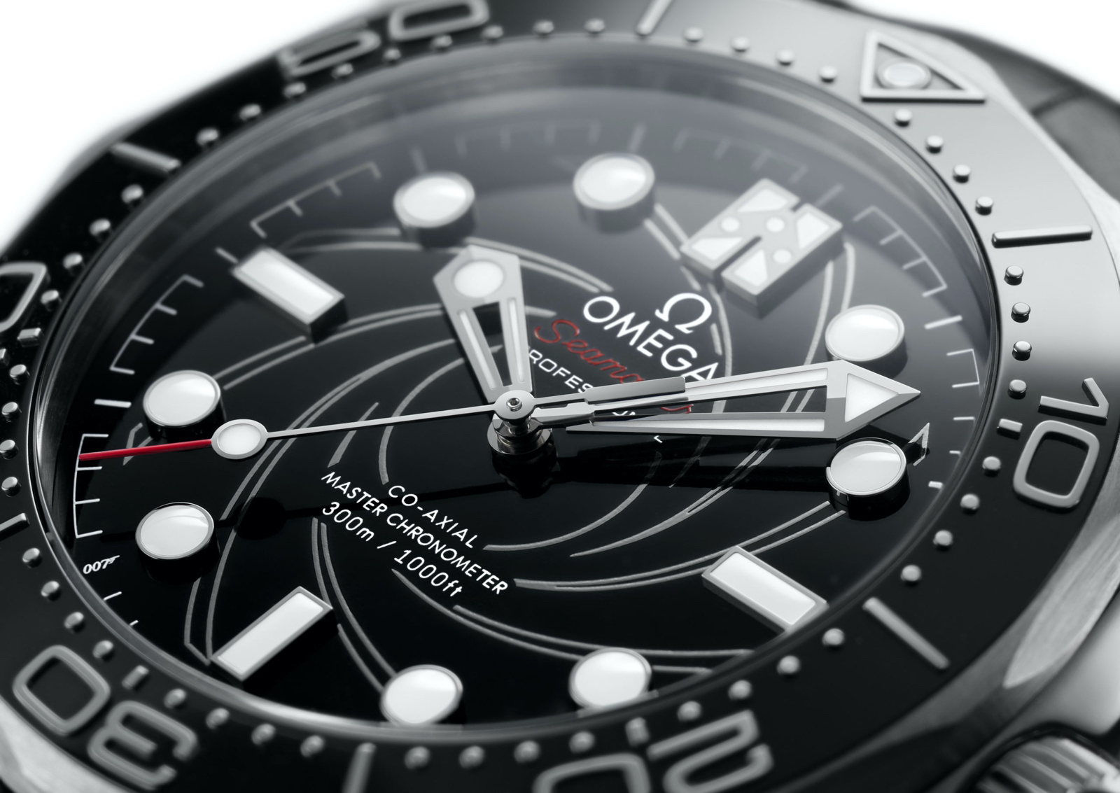 Omega Seamaster Diver 300M James Bond Platinum Dial