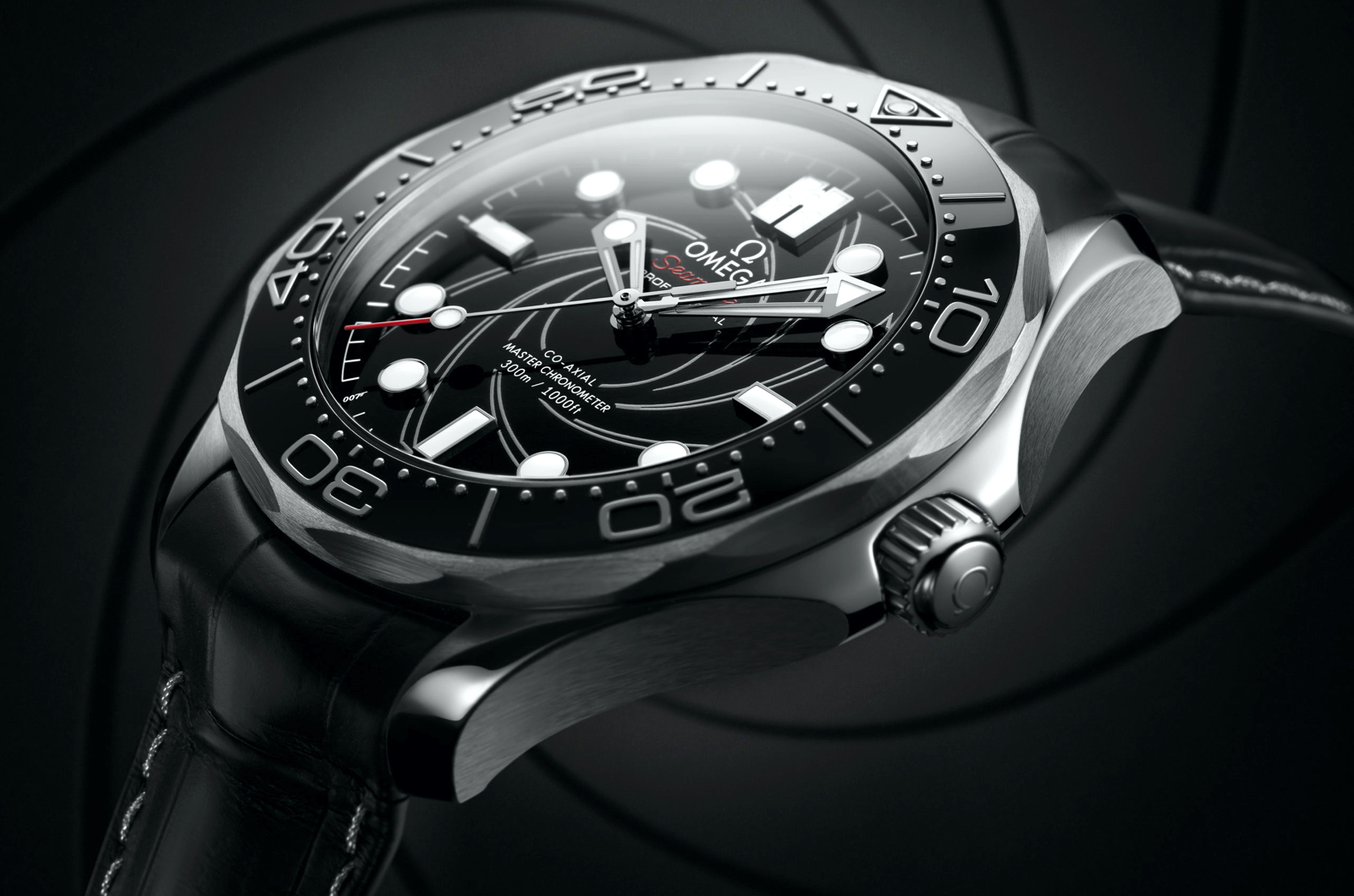 Omega Seamaster Diver 300M James Bond Platinum Profile