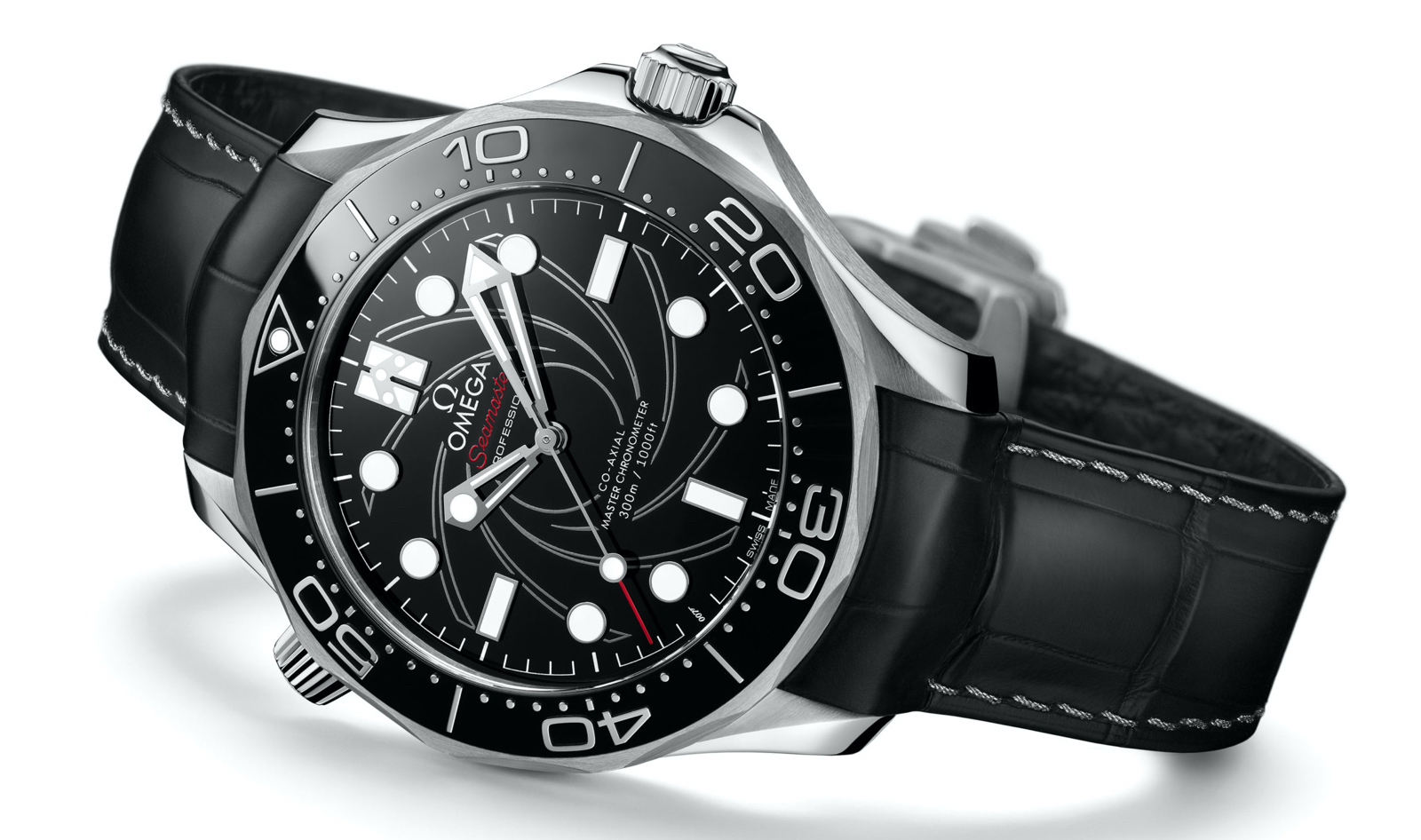 Omega Seamaster Diver 300M James Bond Platinum