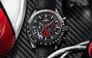 Omega Speedmaster Dark Side of the Moon Alinghi - cover