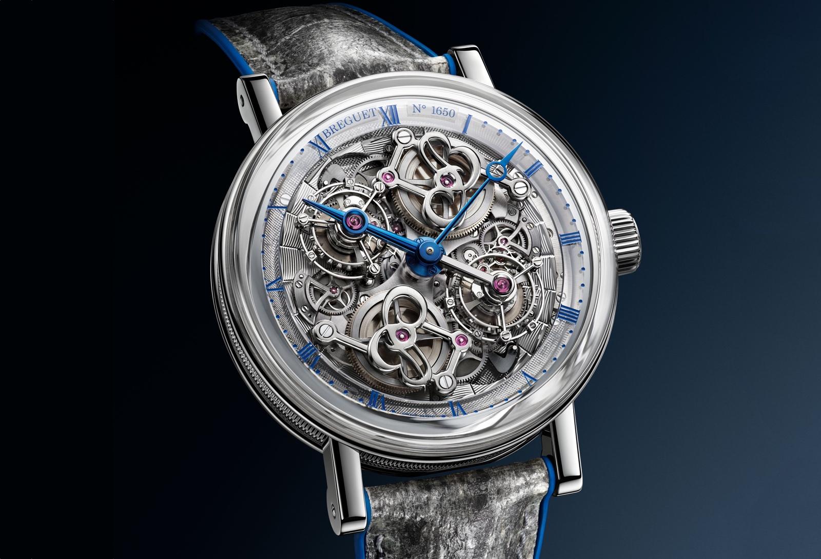 Breguet Classique Double Tourbillon Quai de l'Horloge 5345PT - front