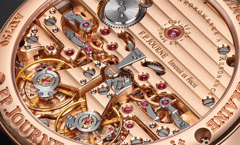 F.P. Journe Classique Chronomètre à Résonance - calibre 1520 detalle