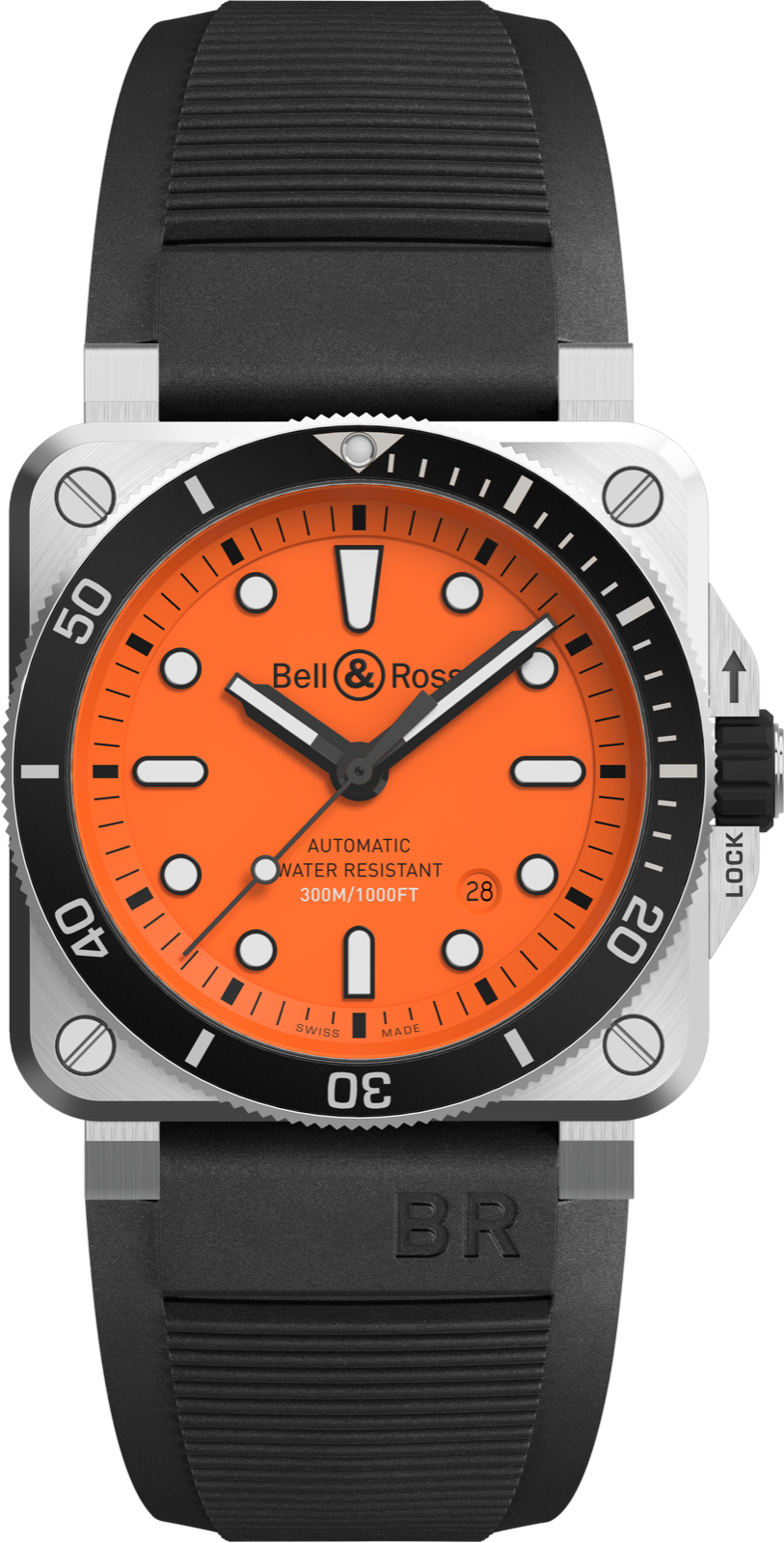 Bell & Ross BR03-92 Diver Orange