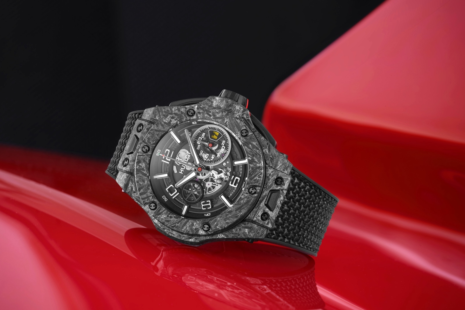 Hublot Big Bang Ferrari 1000 GP - carbon ceramic