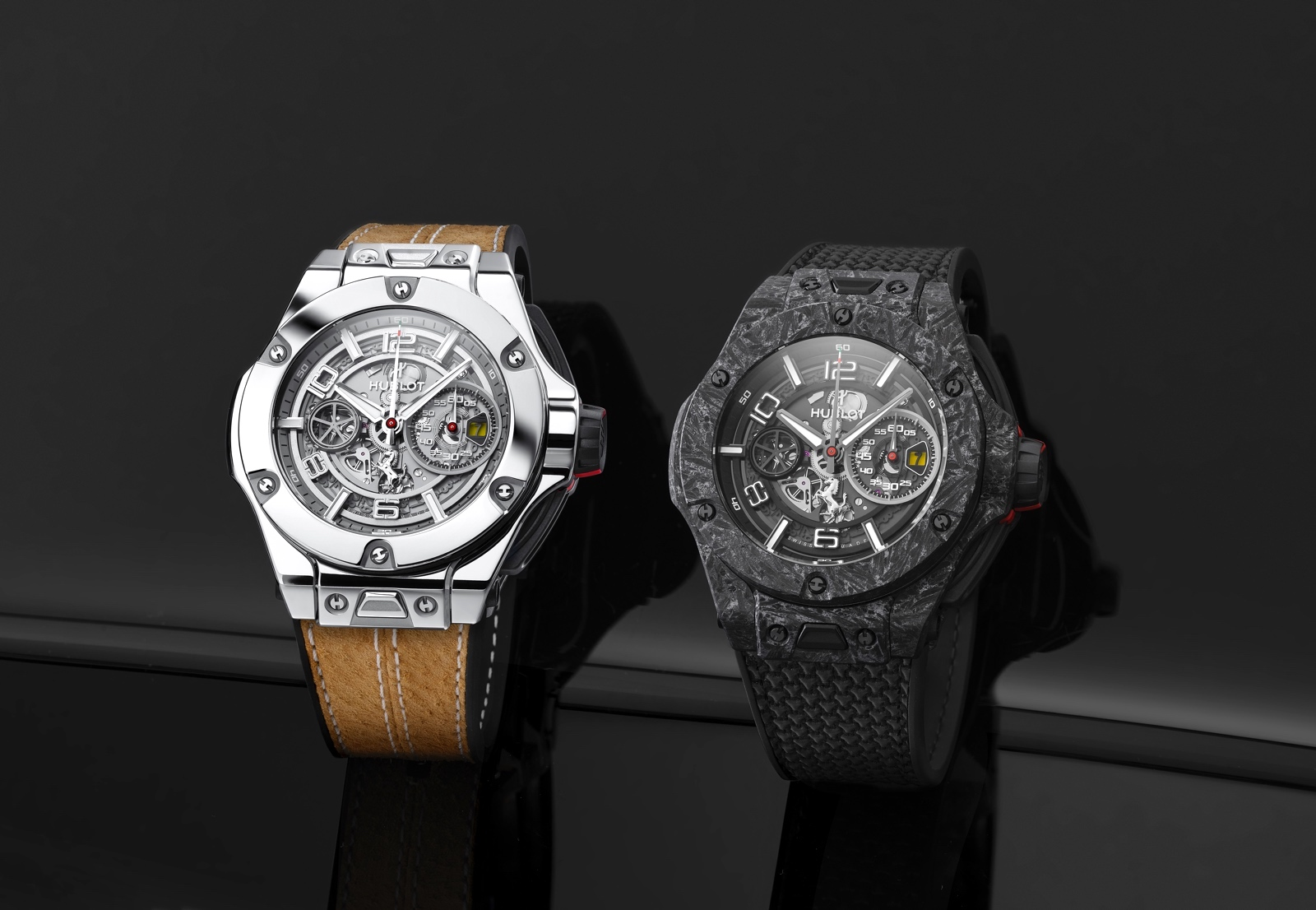 Hublot Big Bang Ferrari 1000 GP - duo art