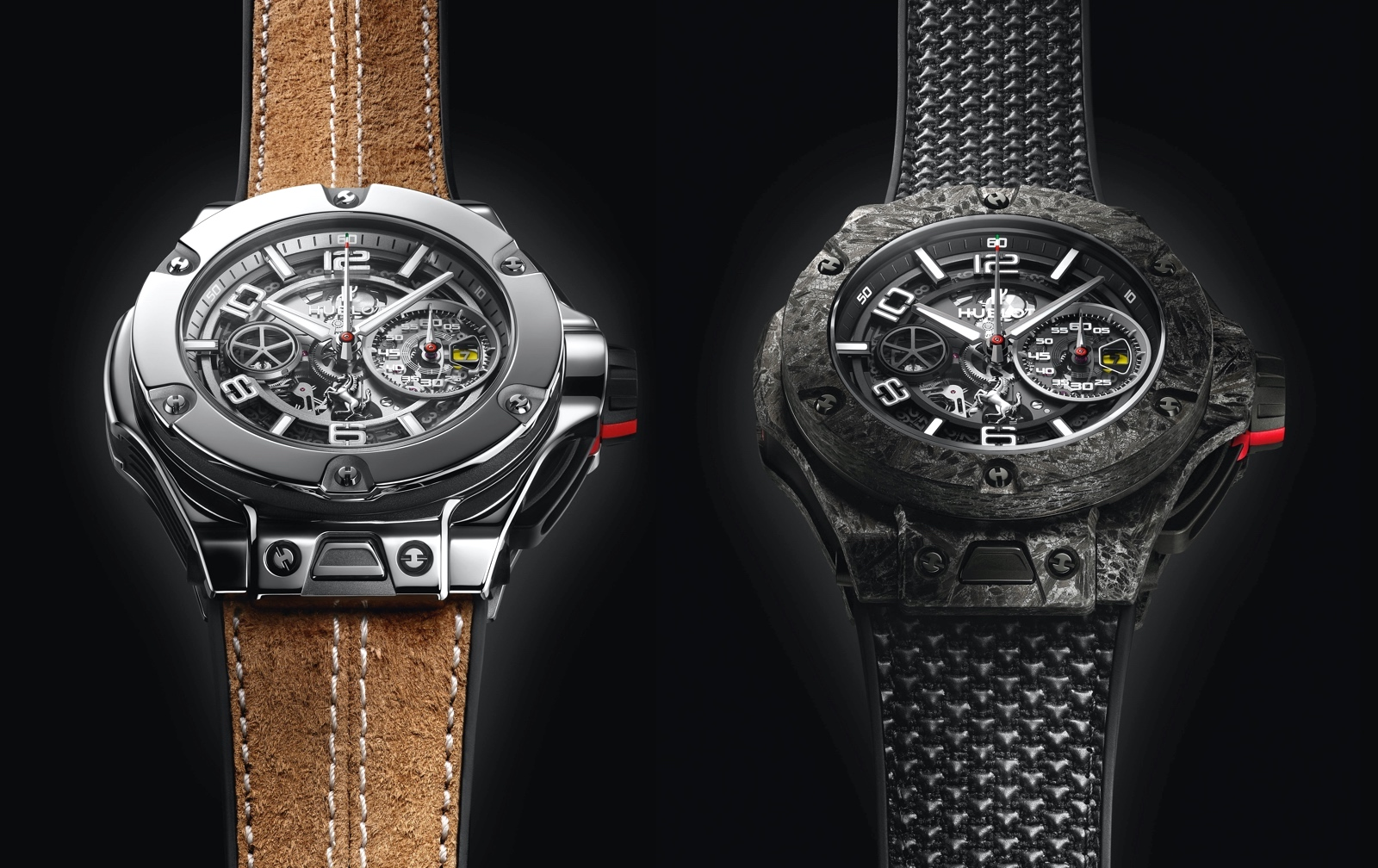 Hublot Big Bang Ferrari 1000 GP - duo