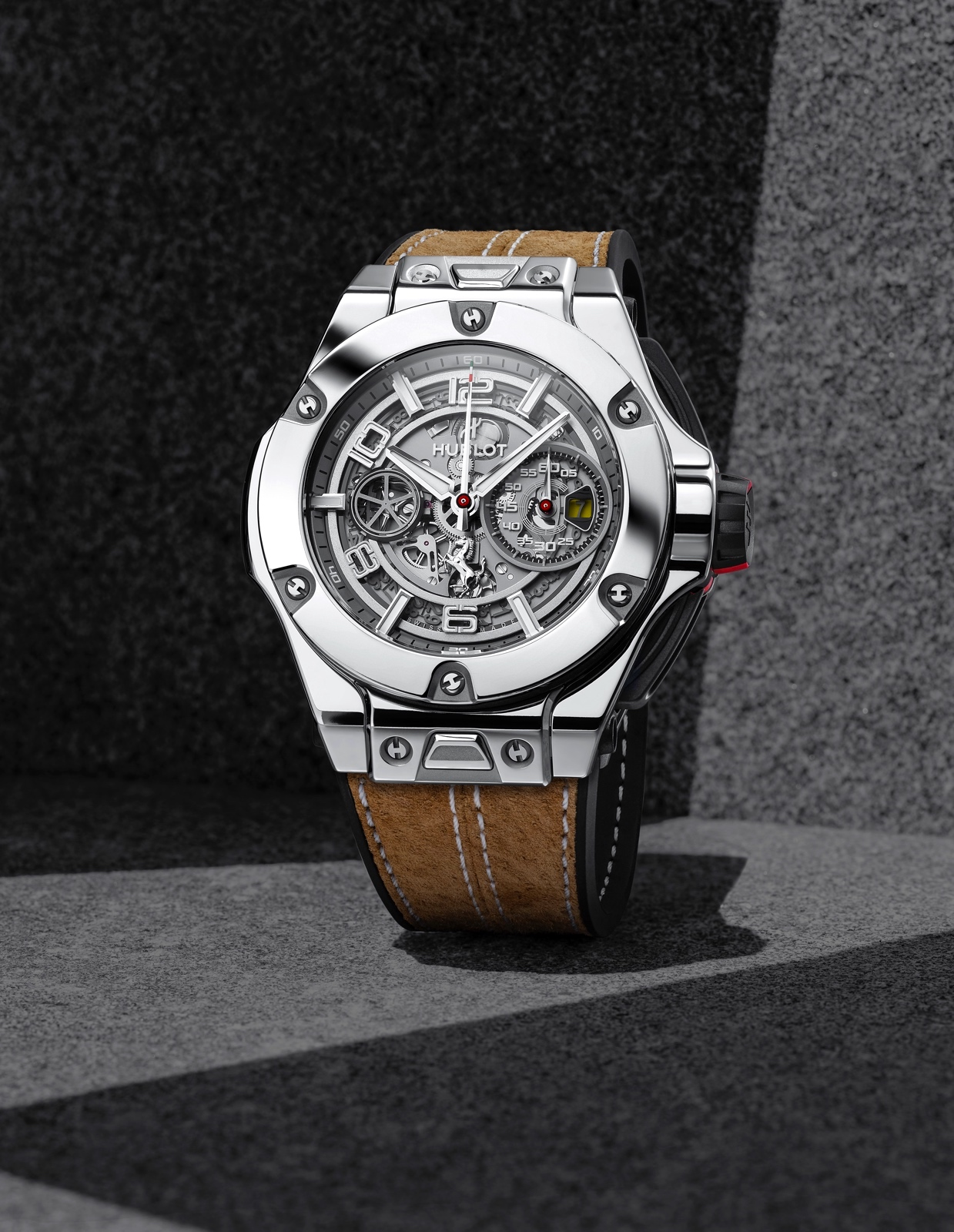 Hublot Big Bang Ferrari 1000 GP - white gold