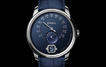 Monsieur de Chanel Edition Bleu - cover