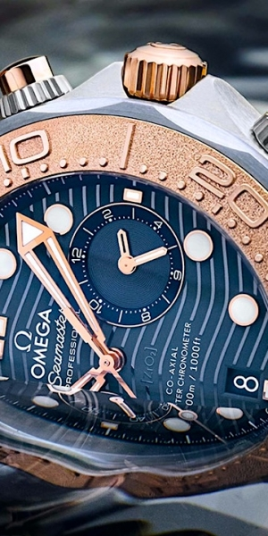 Omega Seamaster Diver 300M Chronograph tri-metal