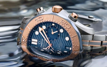 Omega Seamaster Diver 300M Chronograph - cover