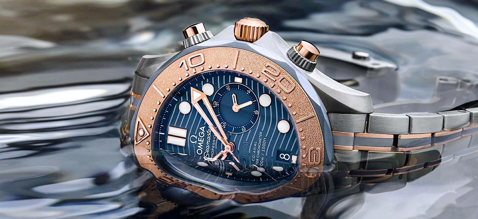 Omega Seamaster Diver 300M Chronograph - cover