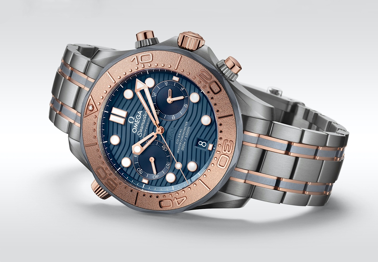 Omega Seamaster Diver 300M Chronograph - front
