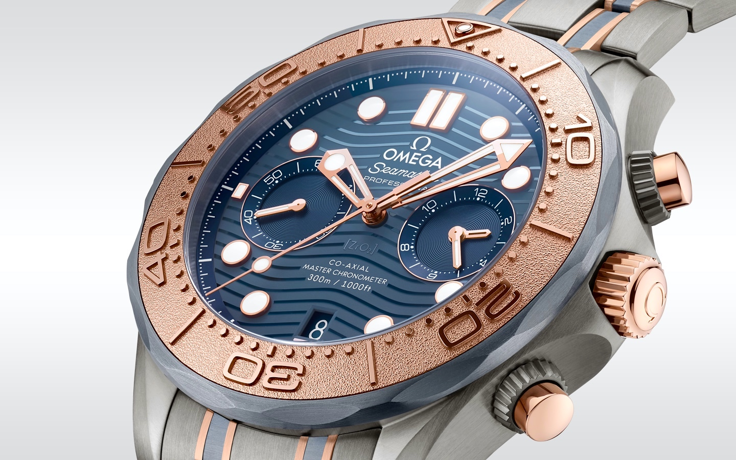Omega Seamaster Diver 300M Chronograph - lateral