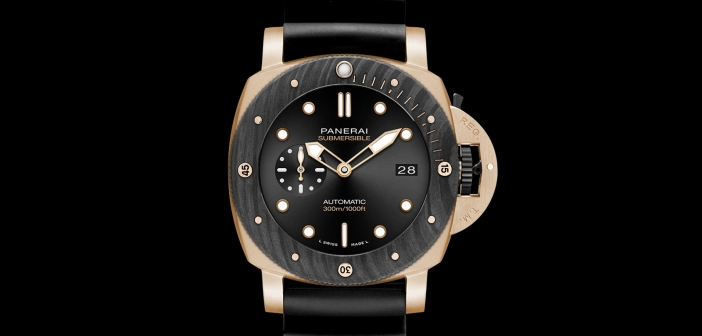 Panerai Submersible Goldtech Orocarbo 44 mm – PAM01070