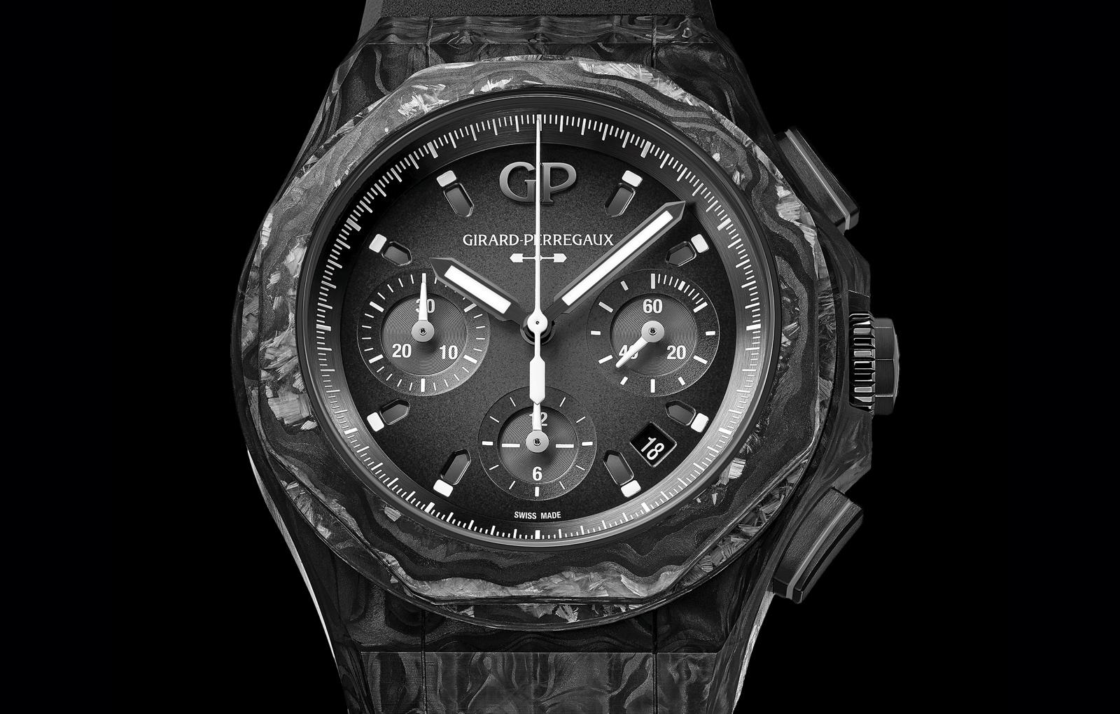 Girard-Perregaux Laureato Absolute Crystal Rock - dial