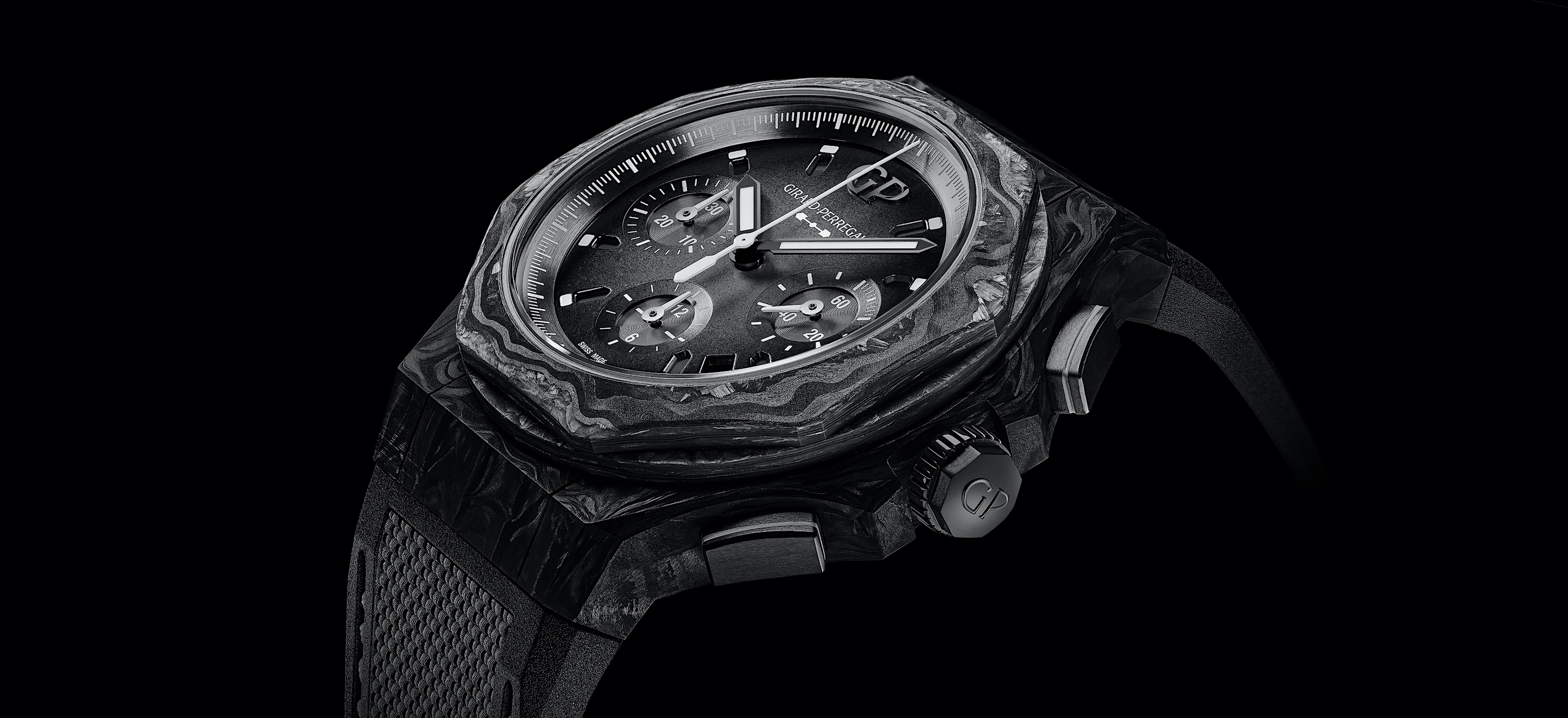 Girard-Perregaux Laureato Absolute Crystal Rock - cover