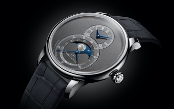 Jaquet Droz Grande Seconde Moon Anthracite - cover