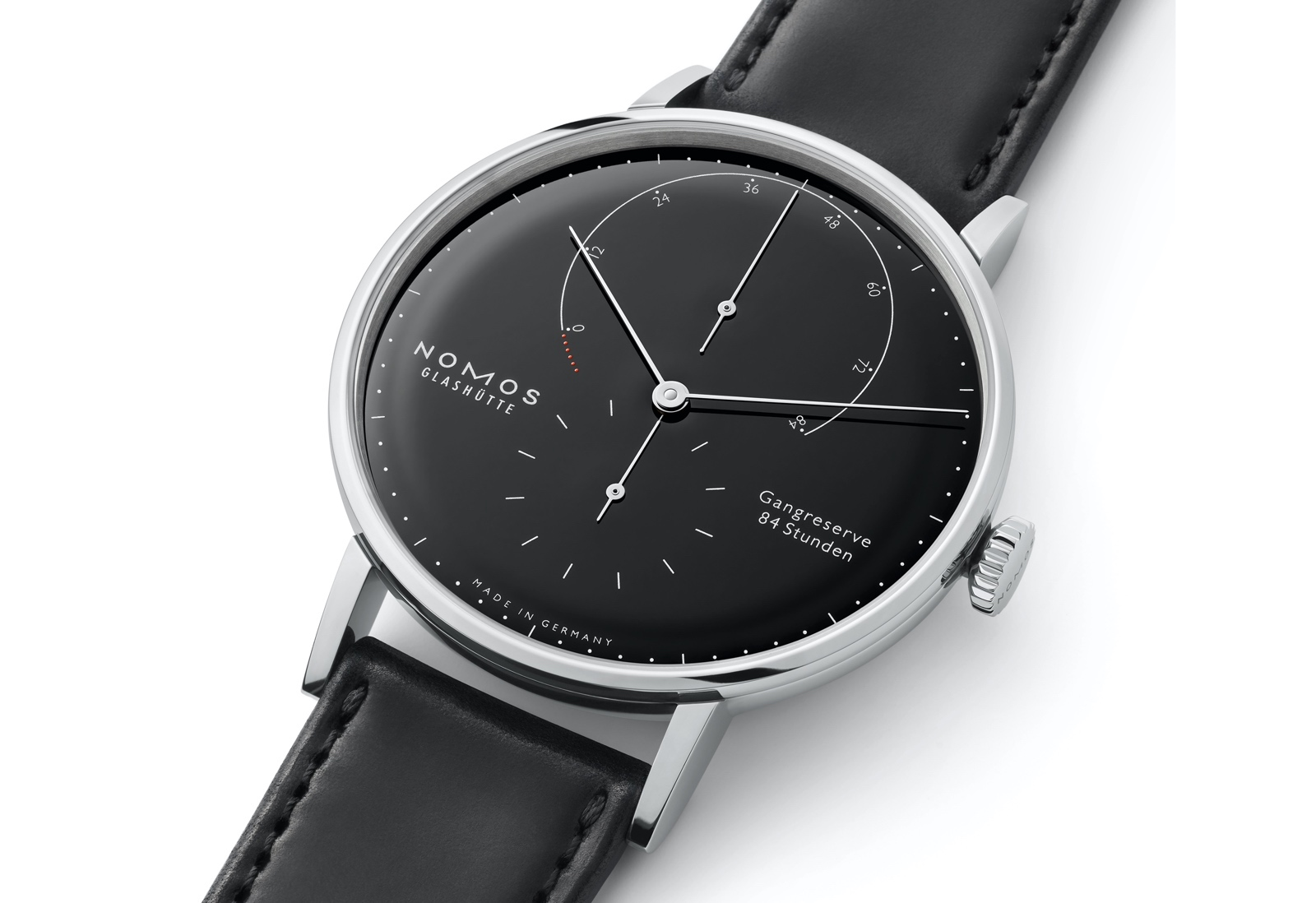 Nomos Lambda 175 Years Watchmaking Glashütte - black dial