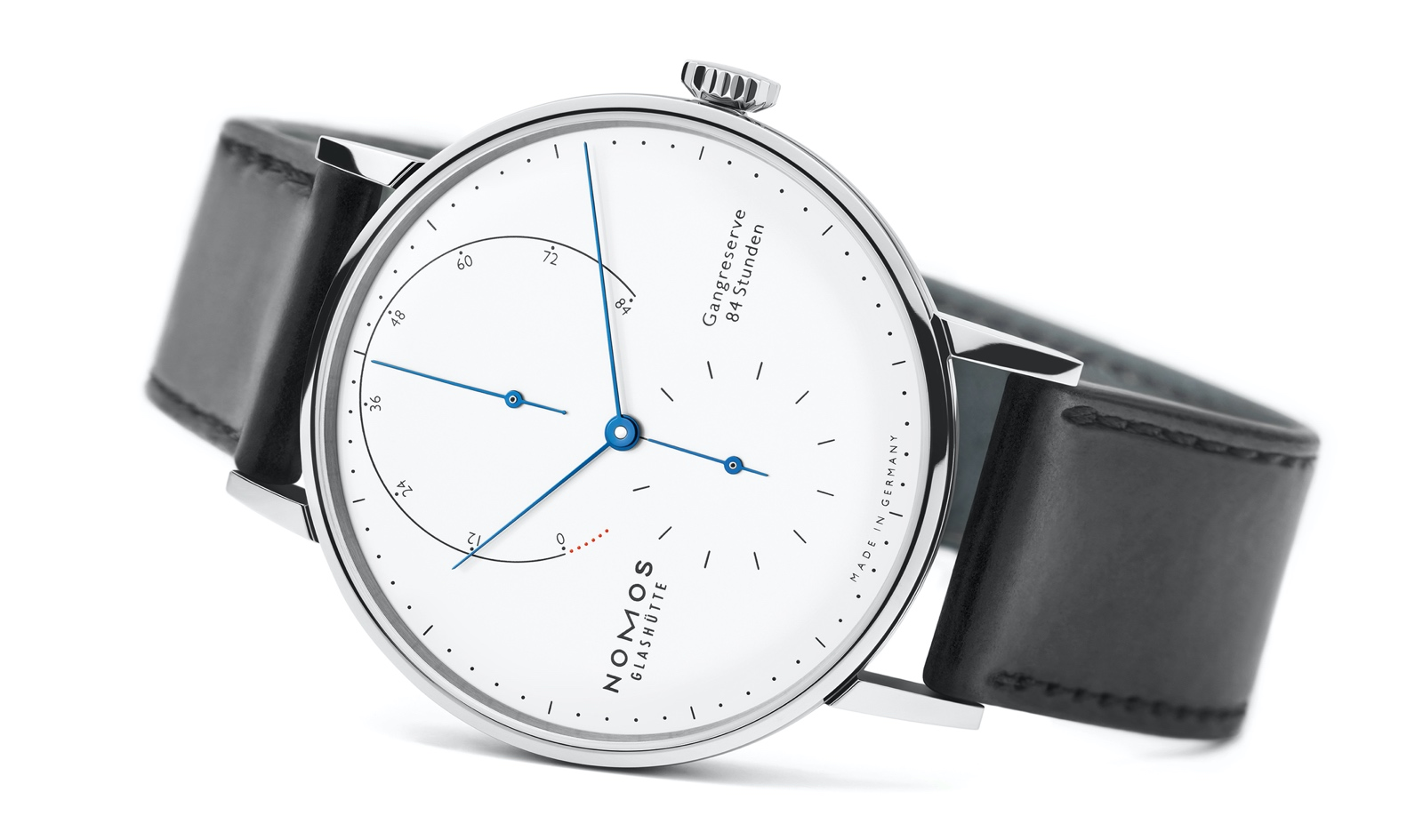 Nomos Lambda 175 Years Watchmaking Glashütte - white