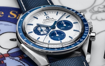 "Omega Speedmaster ""Silver Snoopy Award"" 50th Anniversary - cover"