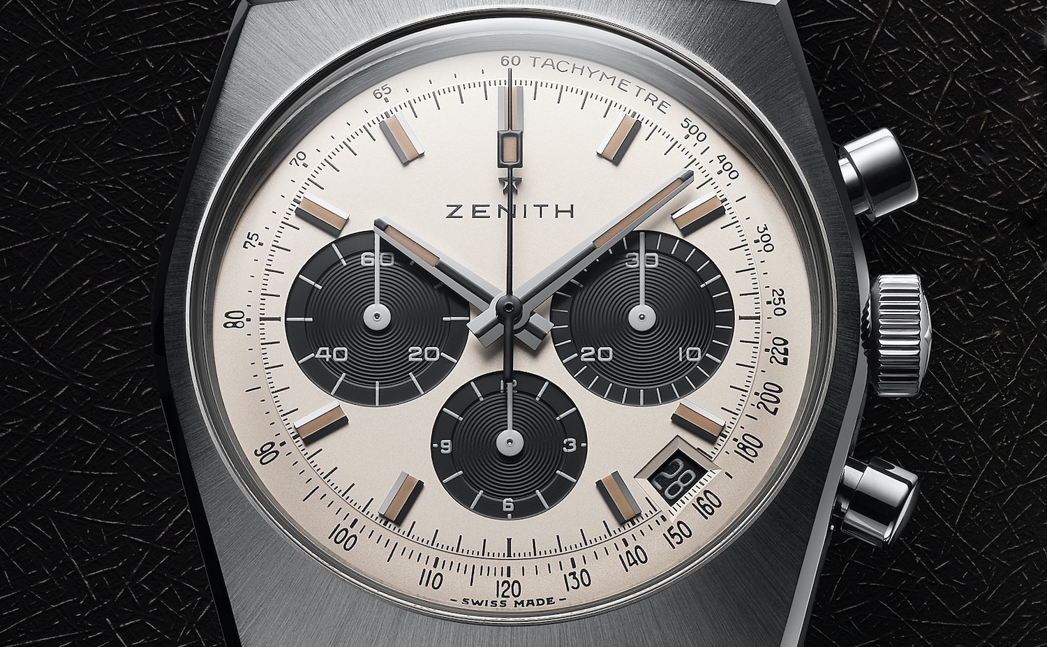 Zenith Chronomaster Revival A384 Lupin The Third - 2nd Edition - dial