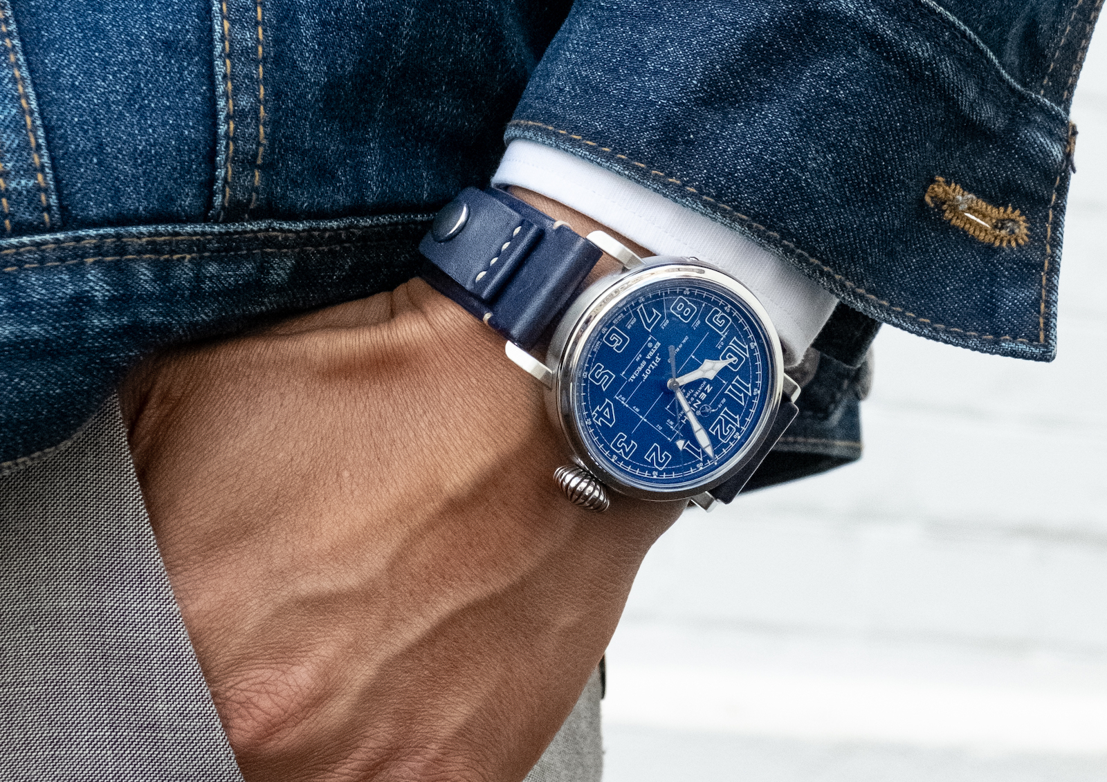 Zenith Pilot Type 20 Blueprint - lifestyle