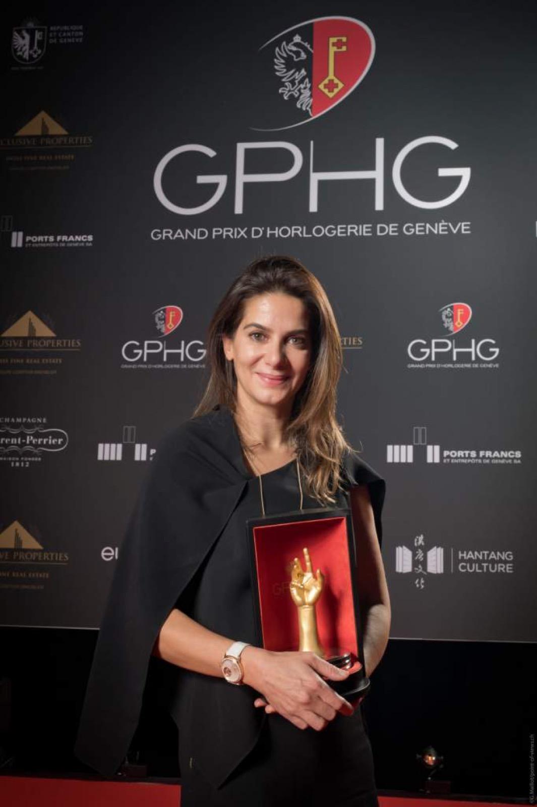 Chabi Nouri, CEO de Piaget GPHG