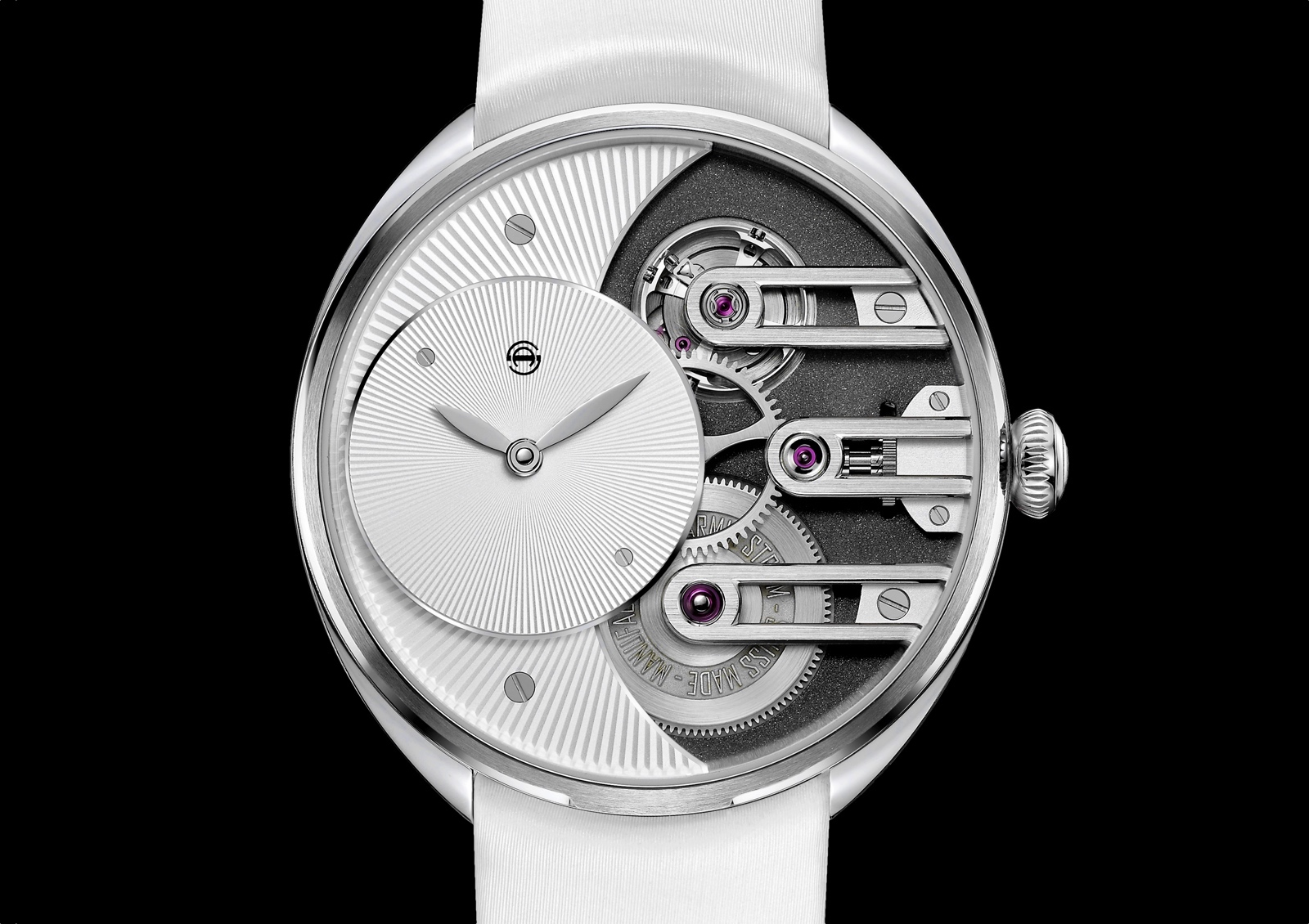 Armin Strom Lady Beat - white dial