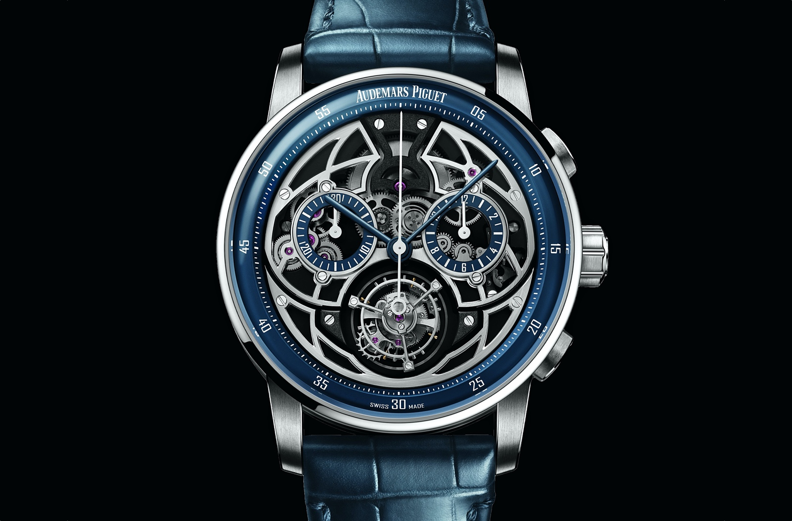 Audemars Piguet Code 11.59 Selfwinding Flying Tourbillon Chronograph - esfera