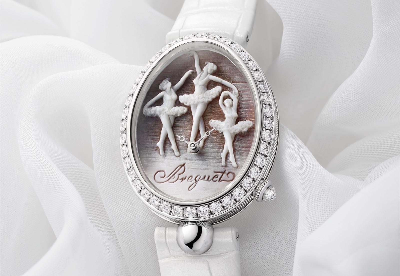 Breguet Reine De Naples 8958 Cammea Ballerina - dial
